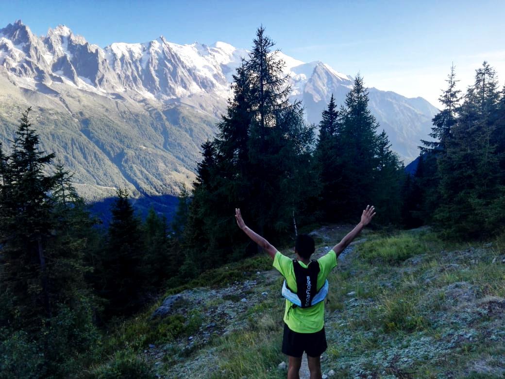 Santos Gabriel Rueda, UTMB Mont Blanc 2018, Chaleco Elemental