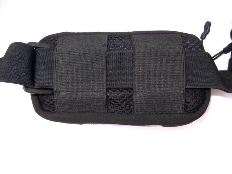Porta número reforzado. Parte posterior de un bolsillo Porta SP