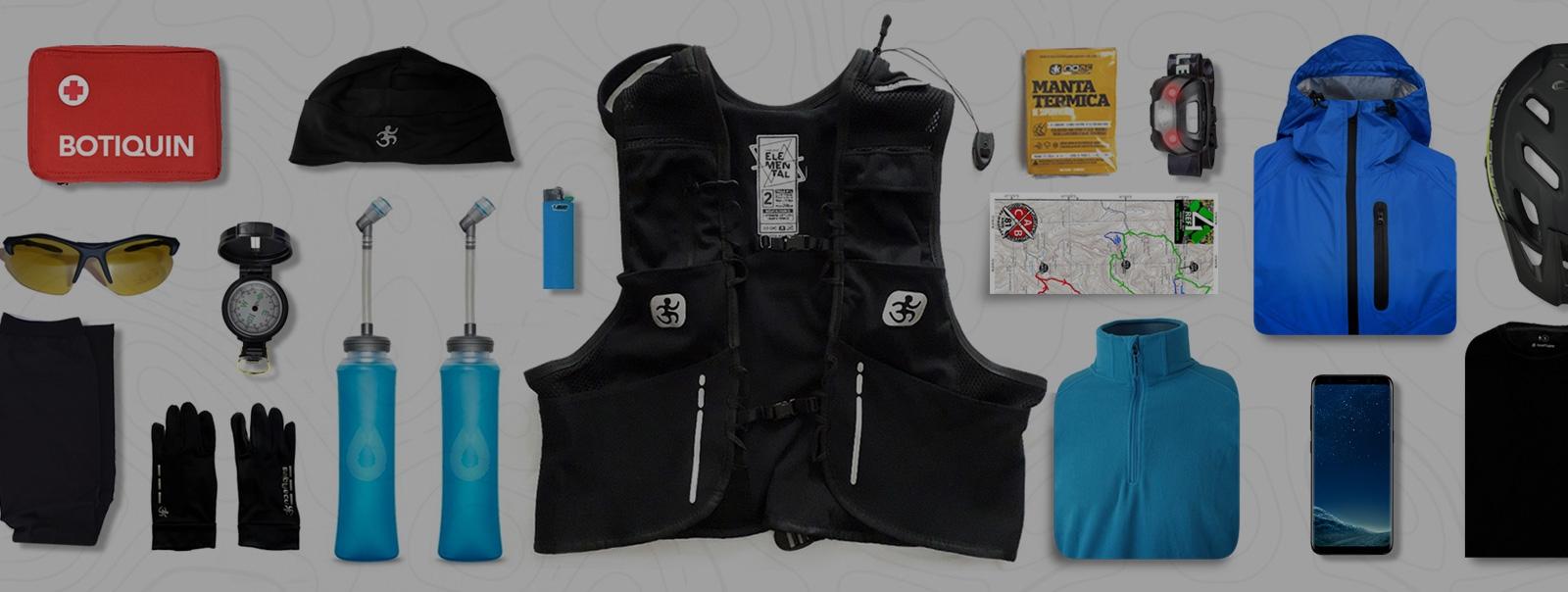 Chaleco Hidratación ideal para TrailRun NoAf