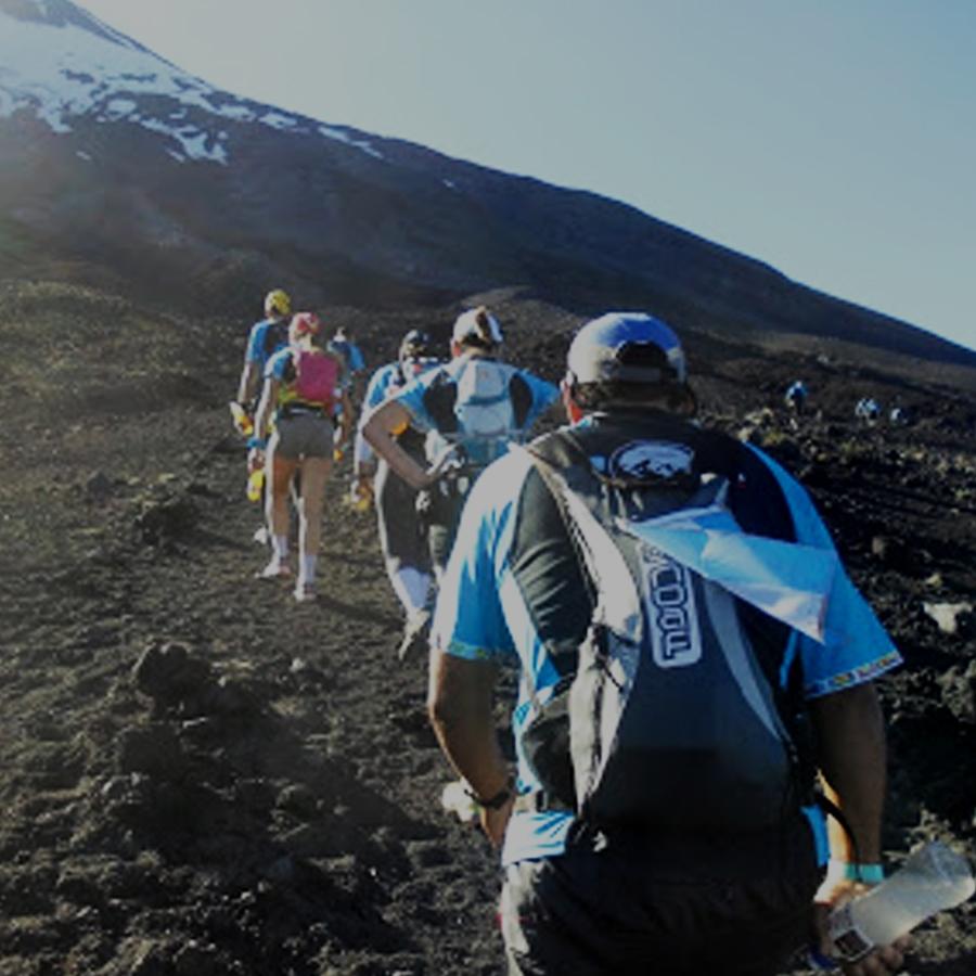 Mochila Hidratación 7lt. NoAf. El Cruce de los Andes. Luciano Mayorga