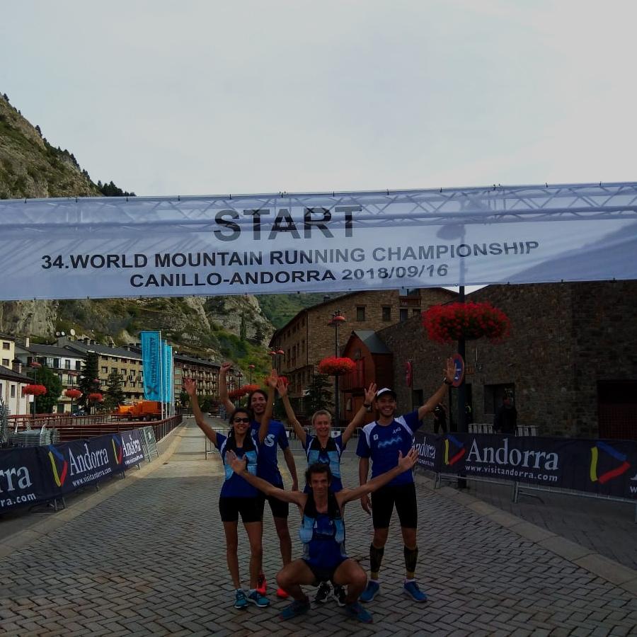 Seleccionado Argentino, World Mountain Running Championship 2018. Andorra.